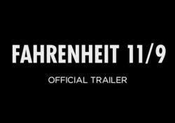 «Fahrenheit 11/9», il trailer del nuovo film di Moore sulla vittoria di Trump