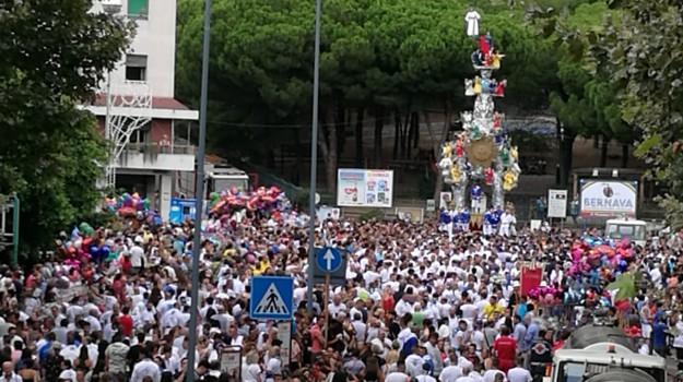 La processione della Vara di Messina - Video