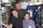 Le astronaute Peggy Whitson, Sandra Magnus e Pamela Melroy (fonte: NASA)