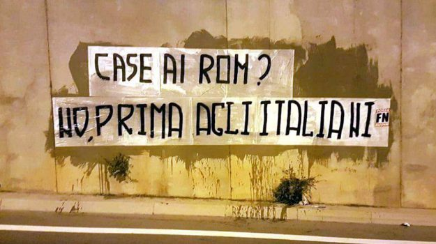 campo rom favorita, forza nuova palermo, Leoluca Orlando, Massimo Ursino, Palermo, Politica