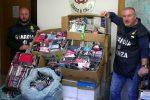 Contraffazione, sequestrati a Montedoro 4 mila tra accessori per cellulari e borse