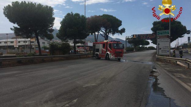 chiuso viale regione, fuga gas palermo, Palermo, Cronaca