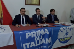 Igor Gelarda, Stefano Candiani e Fabio Cantarella