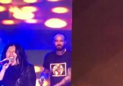 L'esibizione sul palco del Deejay On Stage