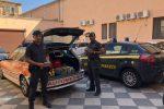 Trasportavano 10 chili di hashish su un'auto medica, due arresti a San Gregorio di Catania