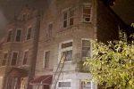 L'appartamento andato in fiamme a Chicago, Usa