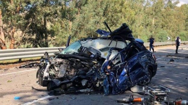 incidente caltanissetta, morti incidente caltanissetta, Caltanissetta, Cronaca