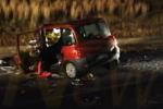Incidente a Mineo sulla Catania-Gela, un morto e 5 feriti nello scontro tra auto e camion: 18 le vittime ad agosto