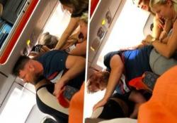 È successo su un volo Easyjet da Luton a Ibiza