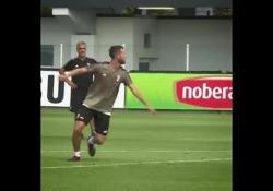 In casa Juventus è sempre tempo di sfide, anche tra compagni