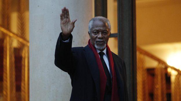morte Kofi Annan, Kofi Annan, Sicilia, Mondo