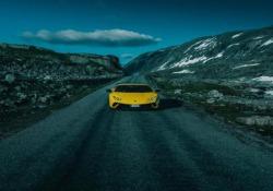 Si è svolta in Norvegia, lungo l'impegnativa Trollstigen e il Geiranger Fjord, la Lamborghini Avventura 2018