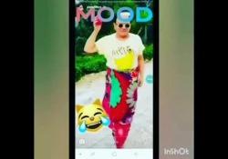 Il cantante ha postato la clip su Instagram