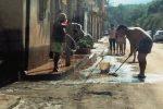 Maltempo, paura a Caronia: il fango invade case e negozi