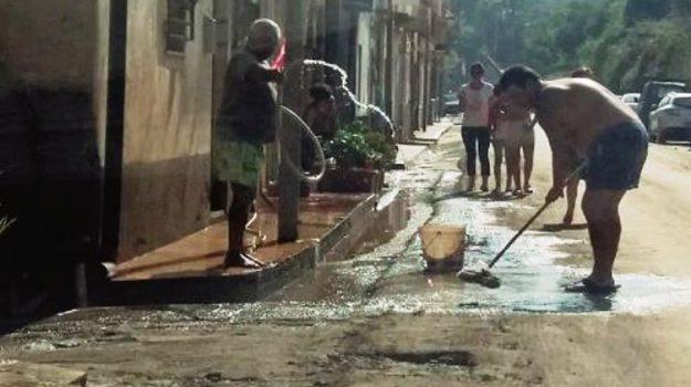 Maltempo caronia, Messina, Cronaca