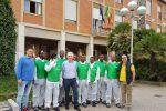 Operazione città pulita a San Cataldo, migranti al lavoro per rendere più belli strade e parchi