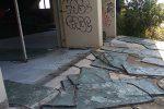 Il PalaNesima di Catania in condizioni degradate
