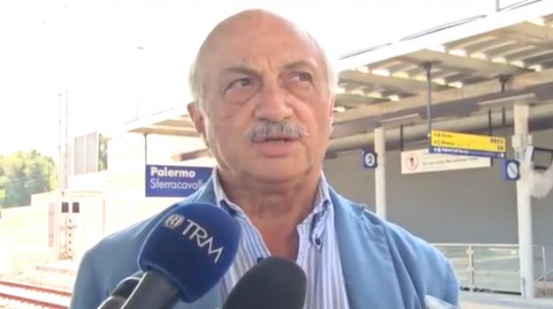 """Passante ferroviario di Palermo, Palazzo: """"Impulso positivo alla mobilità della città"""""""