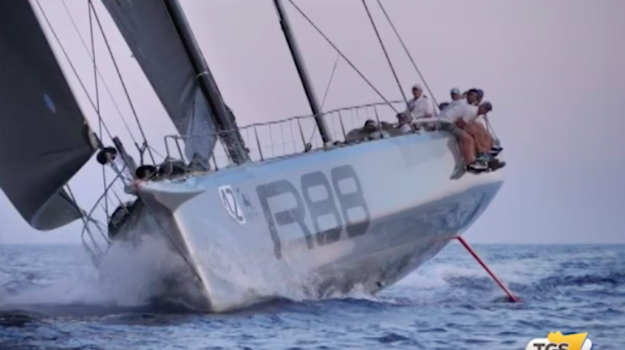 Palermo-Montecarlo, il Maxi Rambler 88 primo scafo a tagliare il traguardo