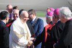 Papa Francesco durante la sua visita in Irlanda