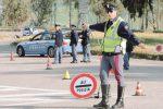 Canicattì, non rispetta l'alt della polizia: inseguito e fermato