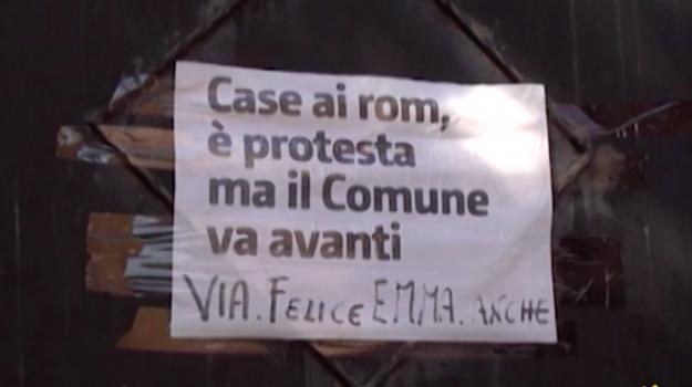 Palermo, protesta di via Emma: si pensa ad una spartizione dei posti nella villa