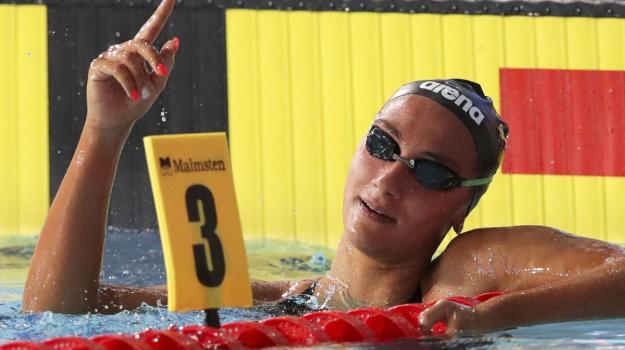 Europei nuoto, Simona Quadarella, Sicilia, Sport