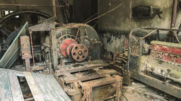 motore vecchia funivia Trapani, Trapani, Cronaca