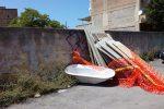 Rifiuti, buche e amianto a Palermo: le immagini da via Uditore e via Agostino