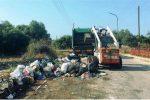 La bonifica di via Cavallaro (Foto Indelicato)