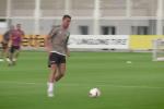 """Finito il tour negli Stati Uniti, la Juventus si allena al completo: Allegri """"abbraccia"""" Cristiano Ronaldo"""