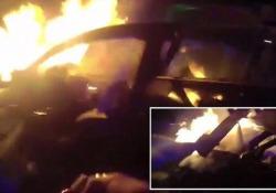 Un uomo è sopravvissuto a un drammatico incidente avvenuto su una strada di Atlanta, Usa
