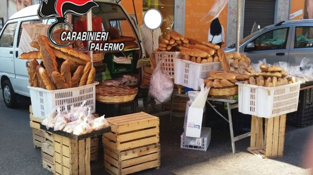 forni chiusi monreale, venditori abusivi pane, Palermo, Cronaca