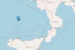 Terremoto nel mar Tirreno fra Sicilia e Calabria, registrata scossa 4.6