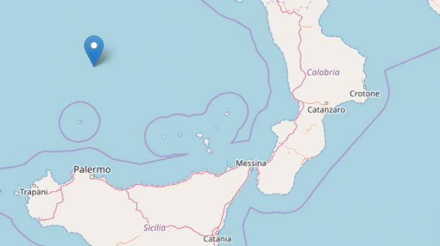 terremoto, terremoto mar tirreno, terremoto sicilia calabria, Sicilia, Cronaca