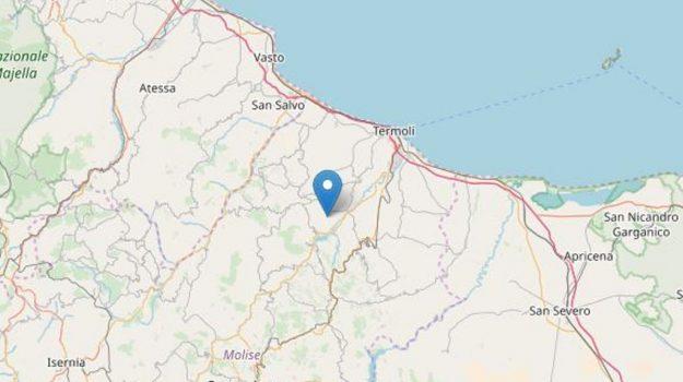 terremoto molise, Sicilia, Cronaca
