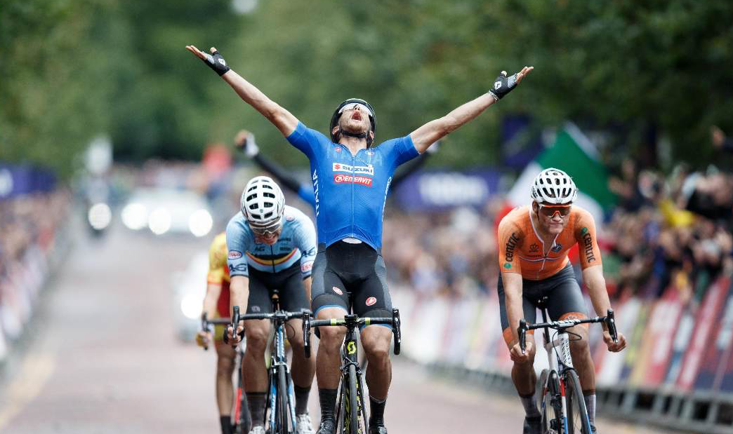 Un grande Matteo Trentin è campione europeo