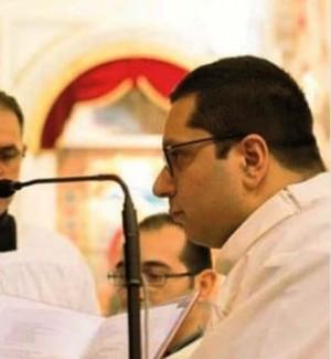 Il vescovo di Piazza Armerina Rosario Gisana e il diacono Daniele Centorbi