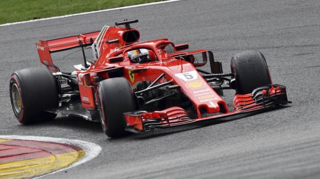 Gp Belgio, Vettel Ferrari, Vittoria Vettel Belgio, Lewis Hamilton, Sebastian Vettel, Sicilia, Sport
