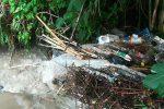 Maltempo, ancora disagi a Palermo: acqua e rifiuti in strada in via Altofonte