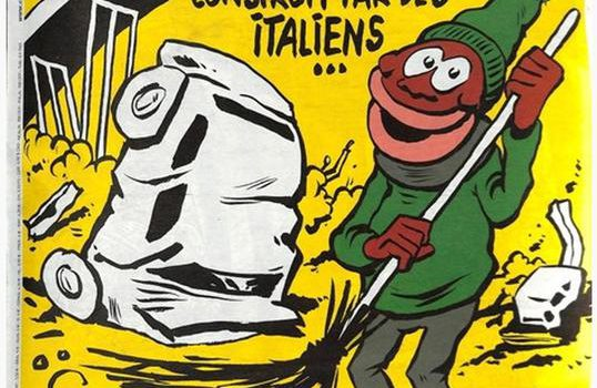 crollo ponte genova, migranti, vignetta charlie hebdo, Sicilia, Mondo