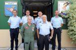 La delegazione Dipma in visita a Sigonella