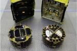 I primi due rover che scenderanno sull'asteroide Ryugu (fonte: JAXA)