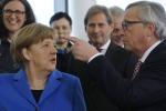 Juncker a Berlino da Merkel, sul tavolo economia e politica