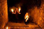 Gli artisti Marika Riggio eJosh Rizzuto del Circ'Opificio (ph. Chiara Maniaci)