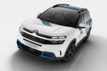 Il Concept C5 Aircross Hybrid prefigura il modello Citroen che entrerà a breve in produzione
