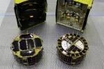 I rover MINERVA-II1 della missione Hayabusa 2. A sinistra il rover-1A, a destra il rover-1B (fonte: JAXA)