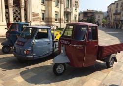 L'Ape Piaggio celebra 70 anni e presenta modello 50 Euro4