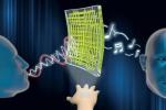 Trasparente, ultrasottile e superleggero, è il primo cerotto hi-tech invisibile che trasforma la pelle in un altoparlante (Fonte: UNIST)