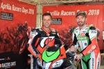 Loris Capirossi e Max Biaggi insieme per Aprilia Racers Days